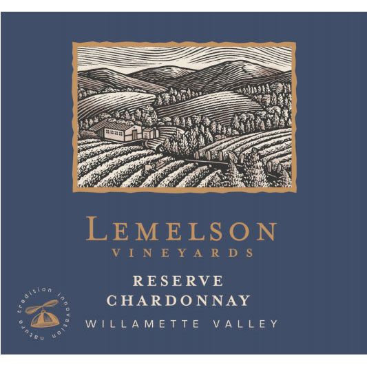 Lemelson Chardonnay Reserve 2015  Front Label