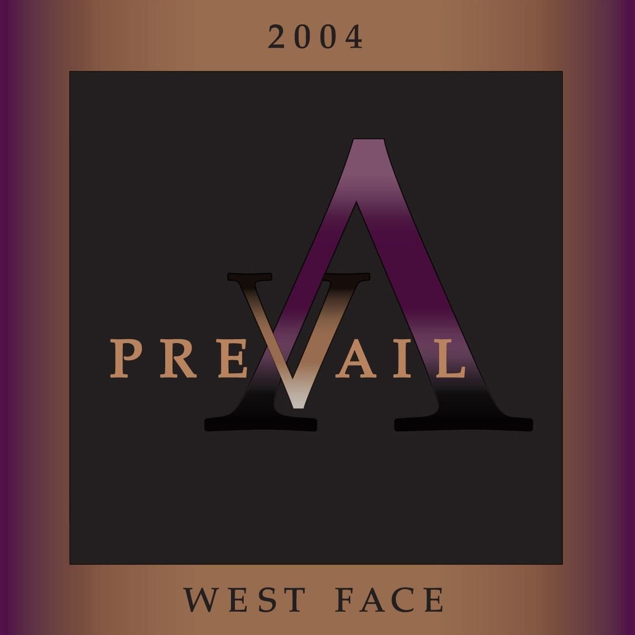 Ferrari-Carano Prevail West Face 2004 Front Label