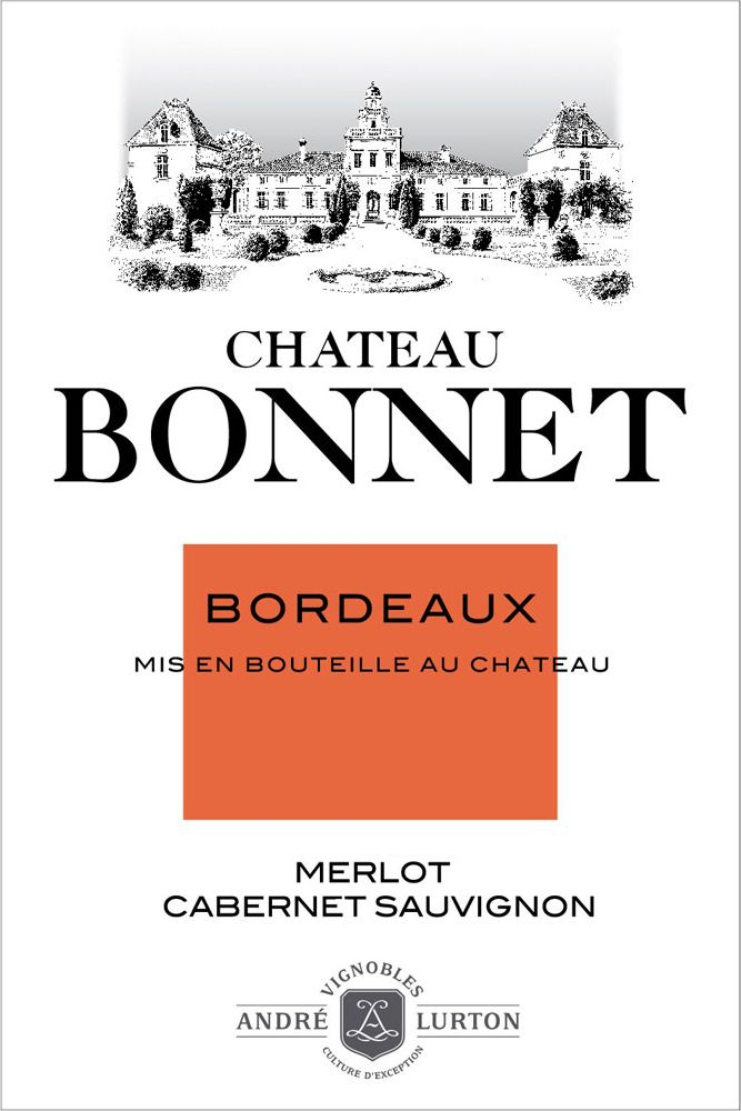 Chateau Bonnet Rouge 2016  Front Label