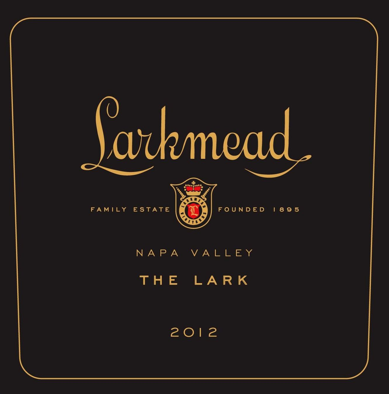 Larkmead The Lark Cabernet Sauvignon 2012 Front Label