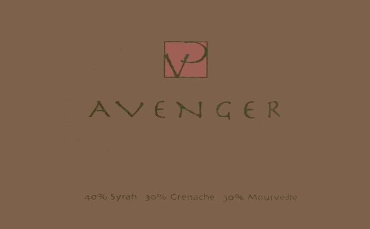 Villa Creek Avenger 2003 Front Label