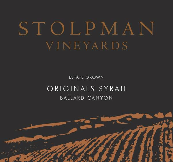 Stolpman Vineyards Originals Syrah 2018  Front Label