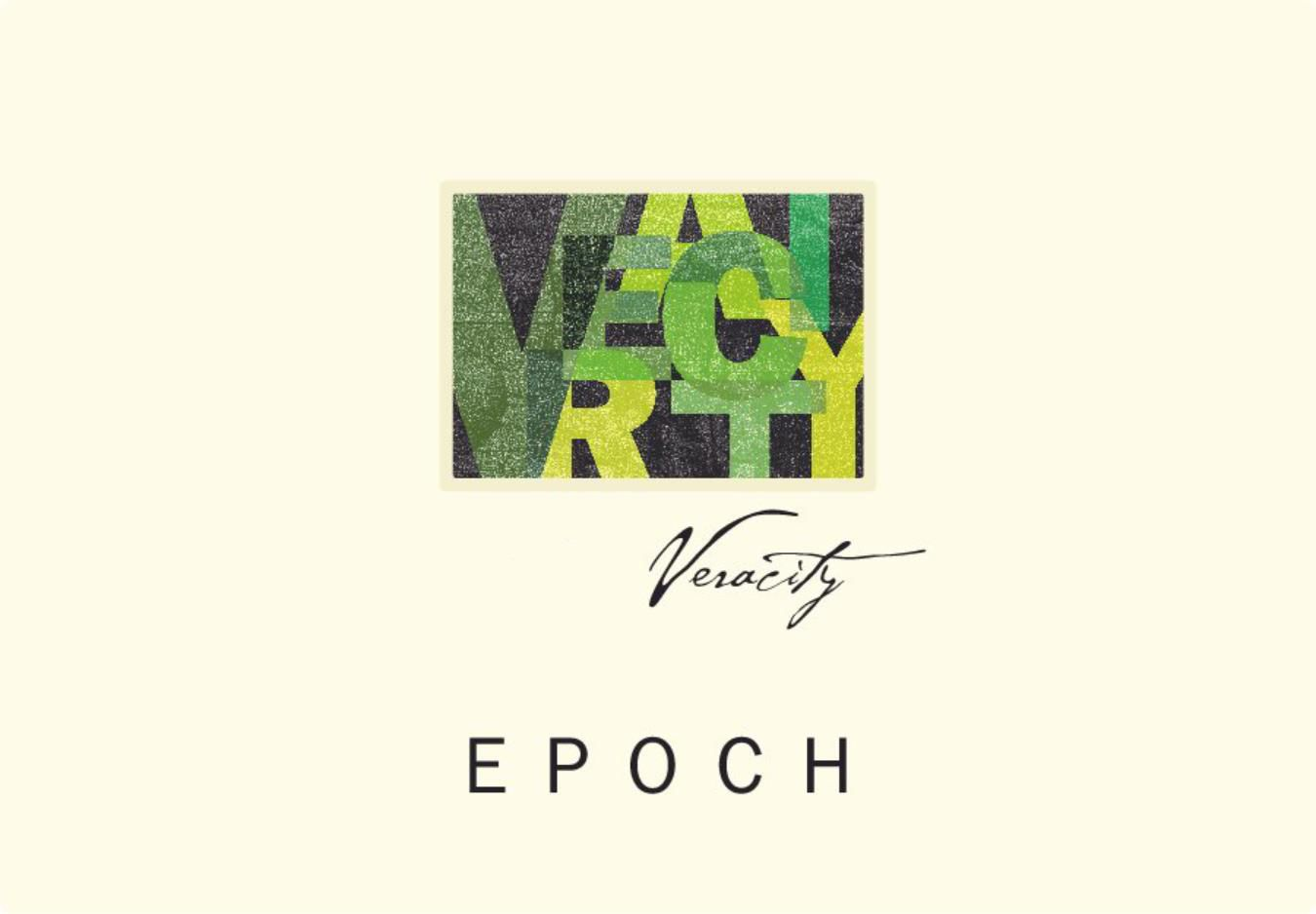 Epoch Veracity Red Blend 2016  Front Label