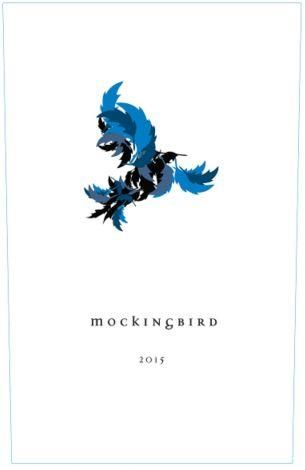 Tuck Beckstoffer Estate Mockingbird Blue 2015 Front Label