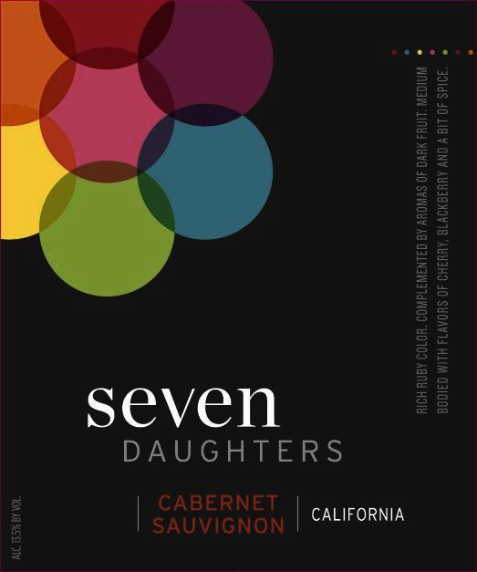 Seven Daughters Cabernet Sauvignon 2014 Front Label