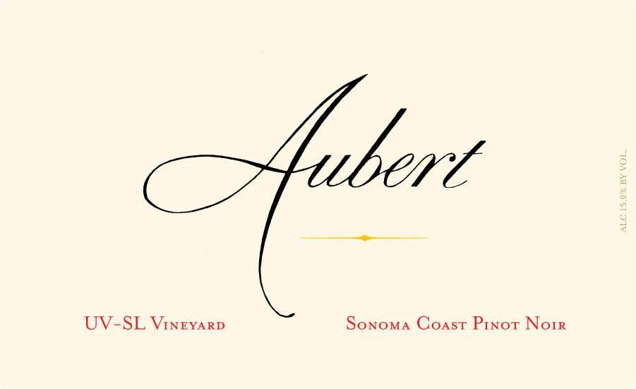 Aubert UV-SL Vineyard Chardonnay 2010  Front Label