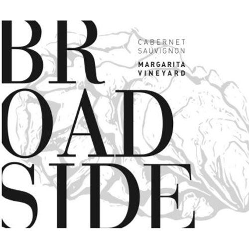 Broadside Margarita Vineyard Cabernet Sauvignon 2014  Front Label