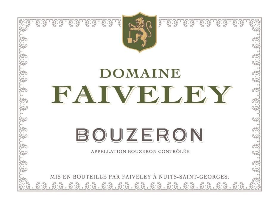 Domaine Faiveley Bouzeron Blanc 2012  Front Label