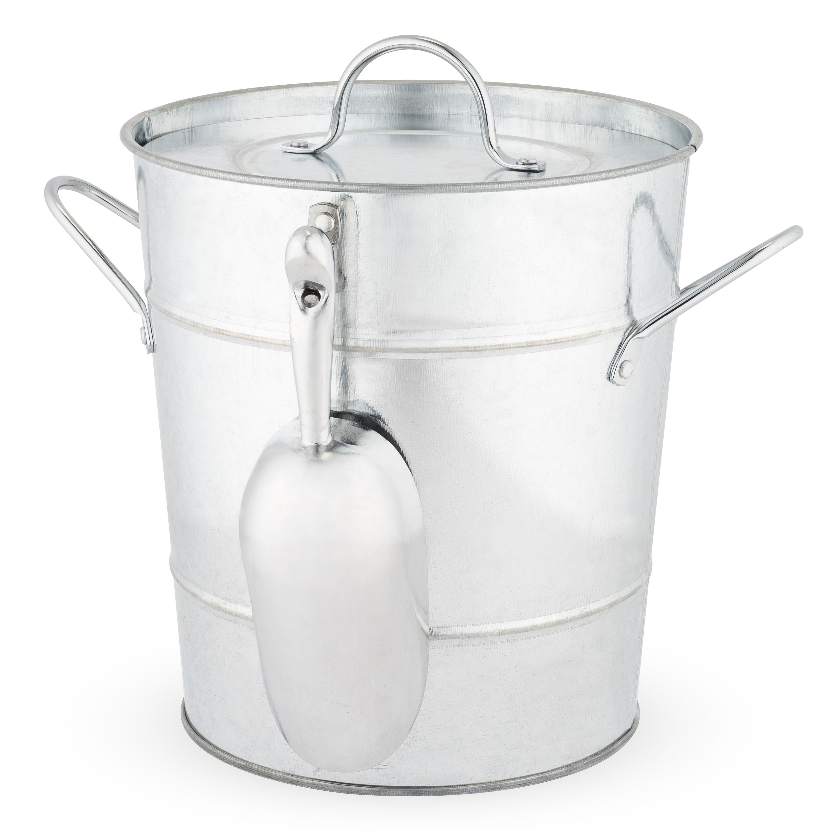 wine.com Galvanized Metal Ice Bucket Gift Product Image