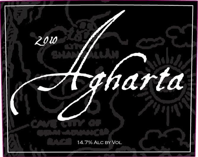 Agharta Black Label Red 2010 Front Label