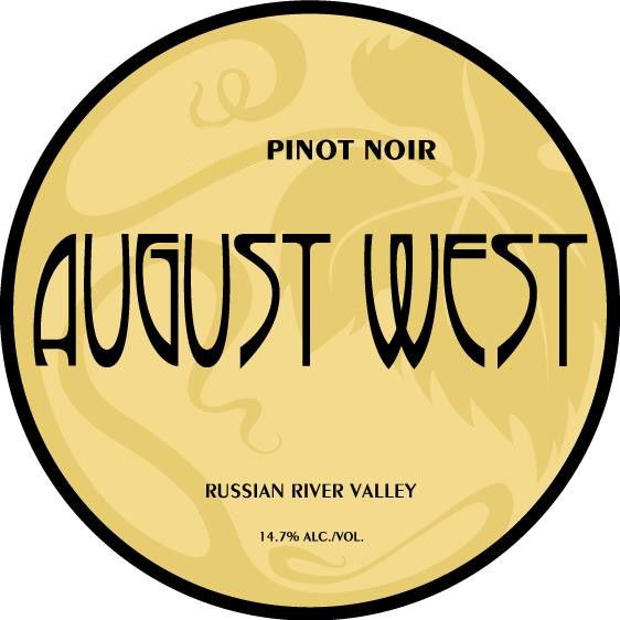 August West Russian River Valley Pinot Noir 2014 Front Label