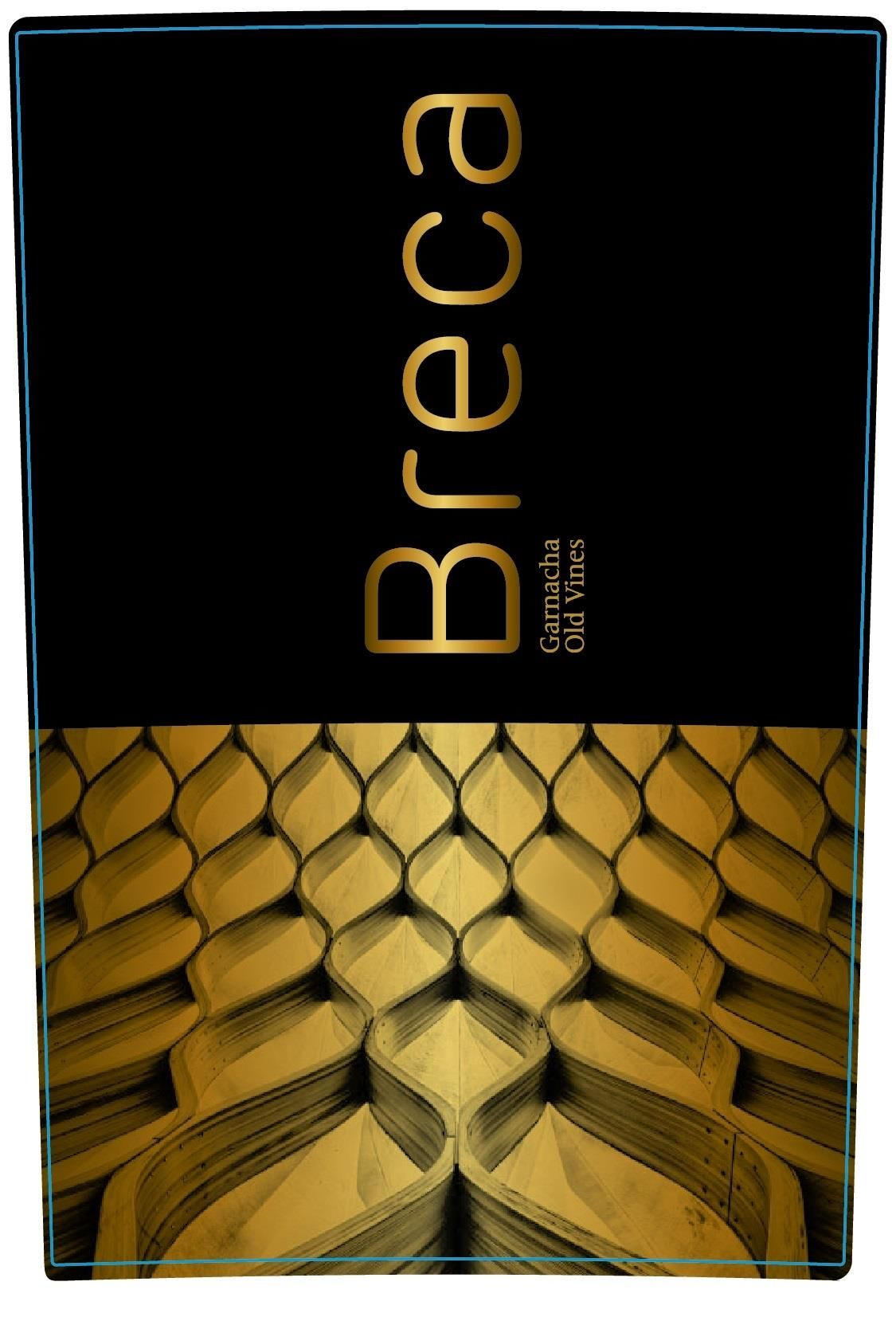 Bodegas Breca Old Vines 2016 Front Label
