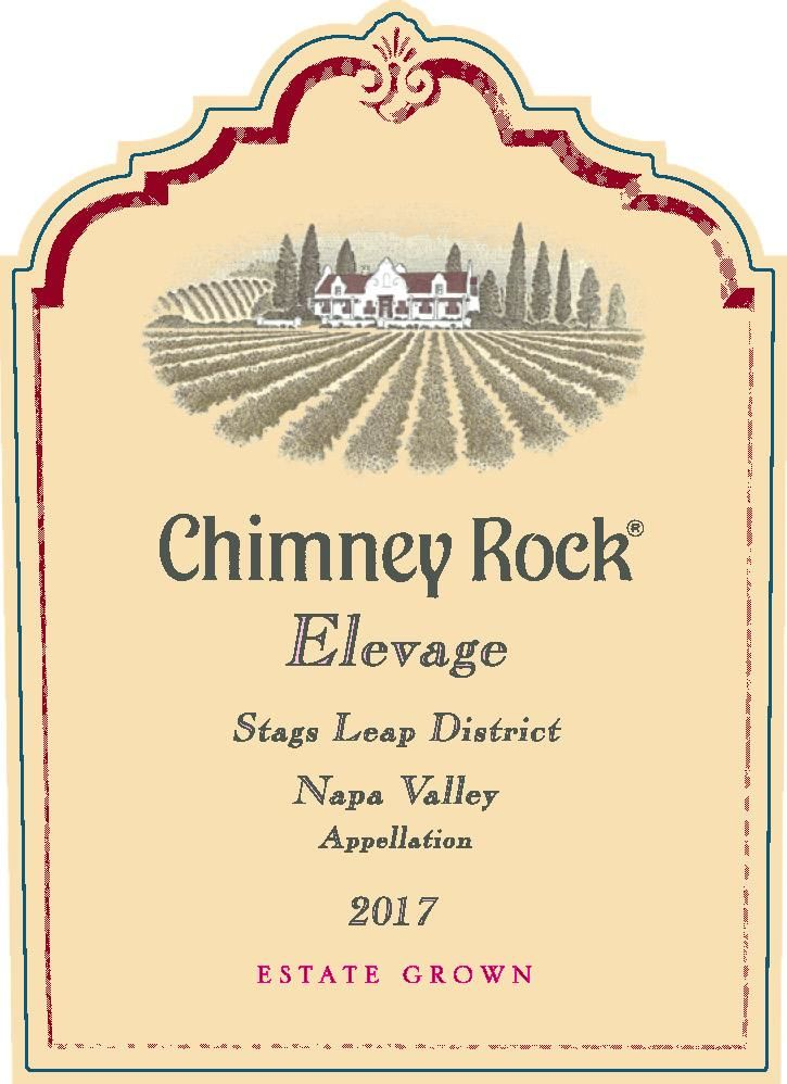 Chimney Rock Elevage Red 2017  Front Label