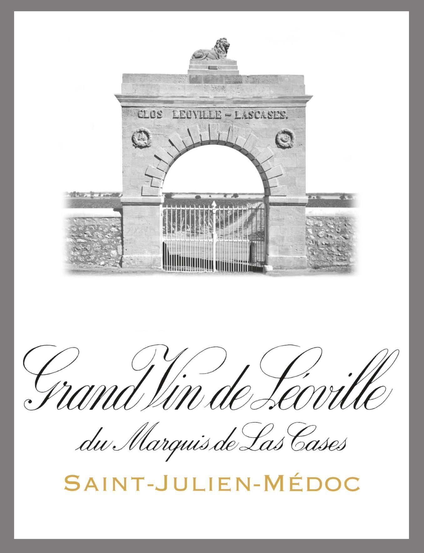 Chateau Leoville Las Cases (Futures Pre-Sale) 2018  Front Label