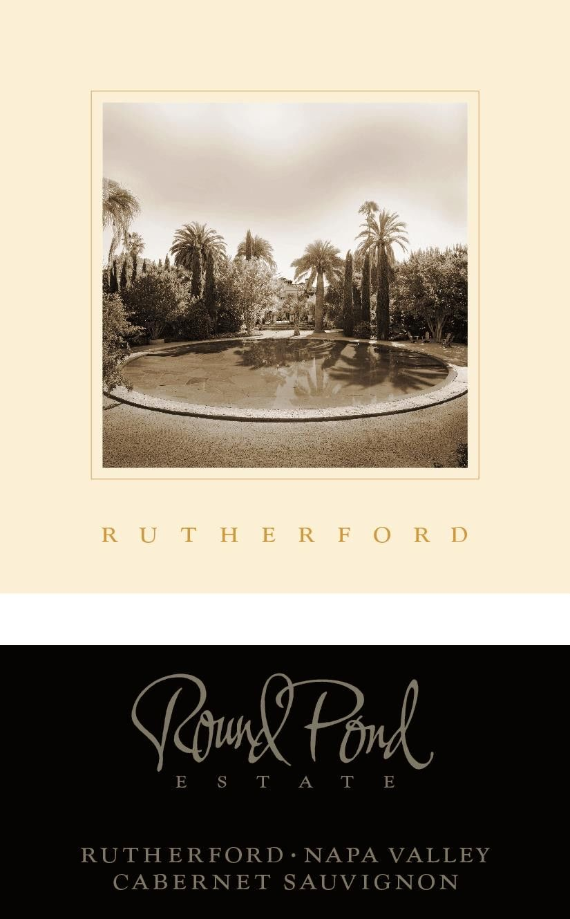 Round Pond Estate Rutherford Cabernet Sauvignon 2016 Front Label