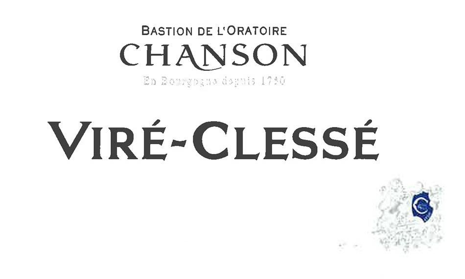 Chanson Pere & Fils Vire Clesse 2017 Front Label
