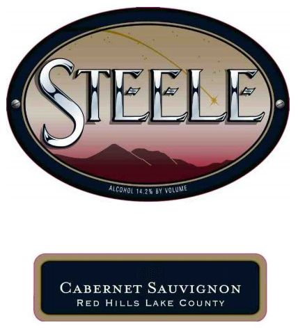 Steele Red Hills Cabernet Sauvignon (375ml half-bottle) 2016  Front Label