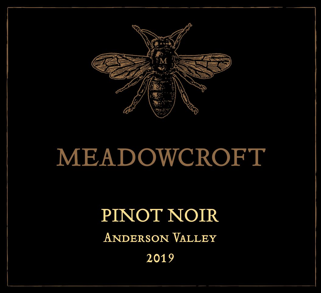 Meadowcroft Anderson Valley Pinot Noir 2019  Front Label
