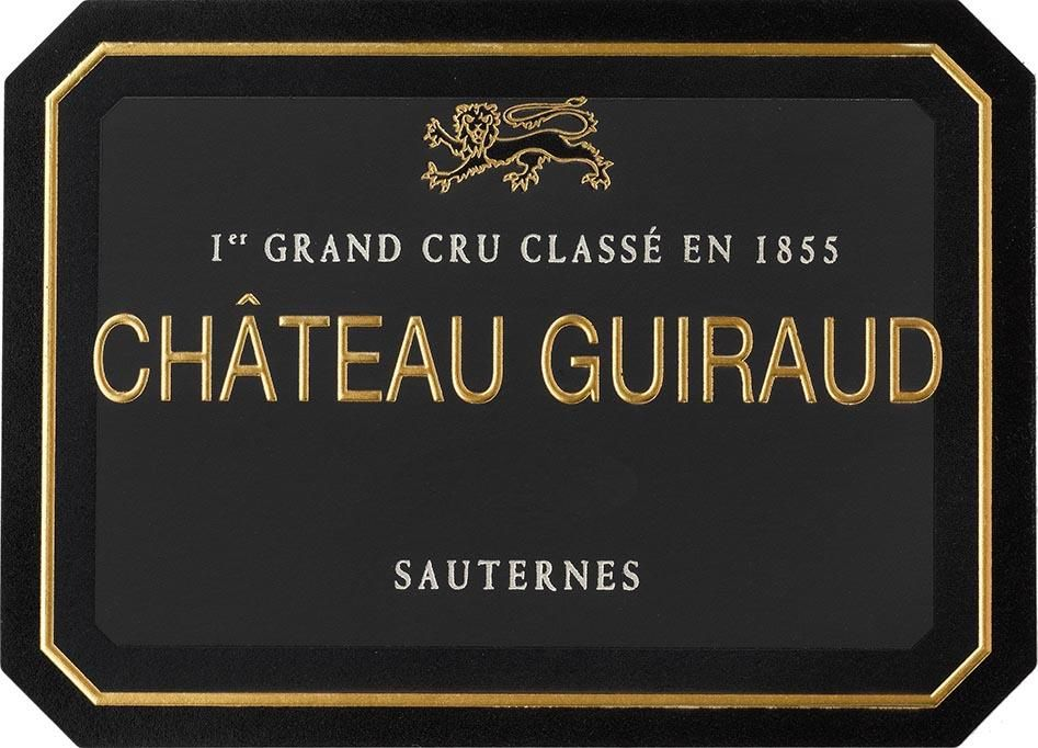 Chateau Guiraud Sauternes (375ML Futures Pre-Sale) 2019  Front Label
