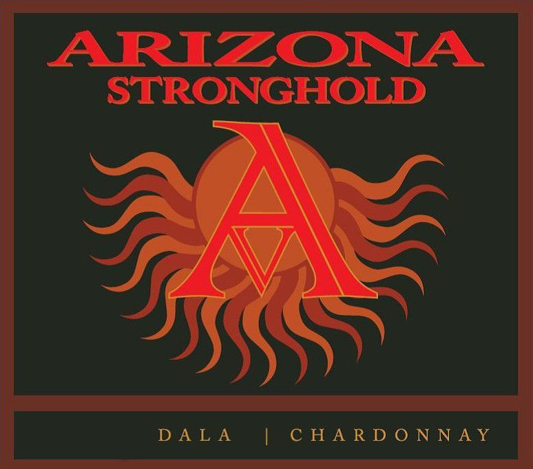 Arizona Stronghold  Dala Chardonnay 2015  Front Label