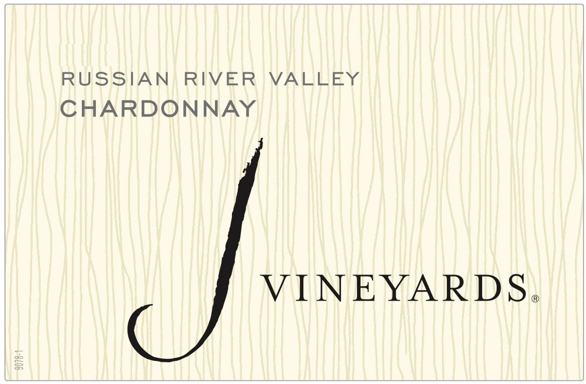 J Vineyards Russian River Chardonnay 2018  Front Label