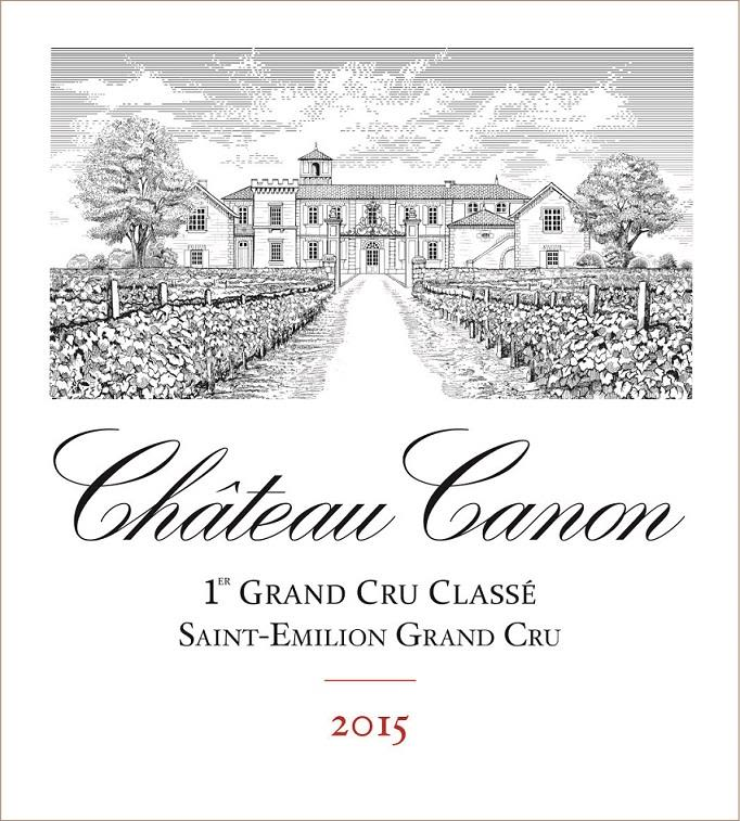Chateau Canon  2015  Front Label