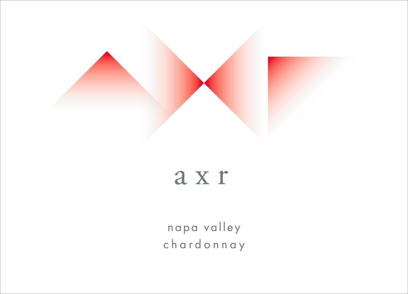 AXR Napa Valley Chardonnay 2015  Front Label