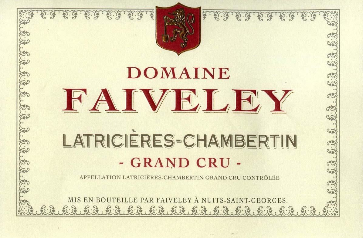 Domaine Faiveley Latricieres-Chambertin Grand Cru 2008  Front Label