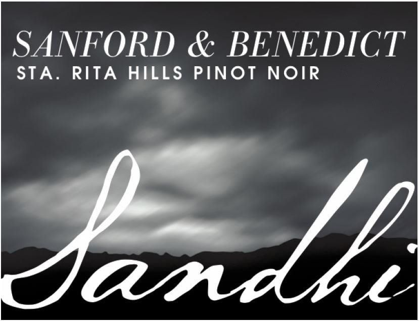 Sandhi Sanford and Benedict Pinot Noir 2017  Front Label