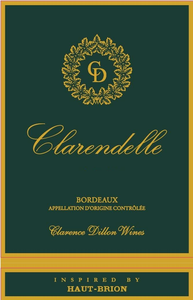 Clarendelle Inspired by Haut-Brion (375ML half-bottle) 2015 Front Label
