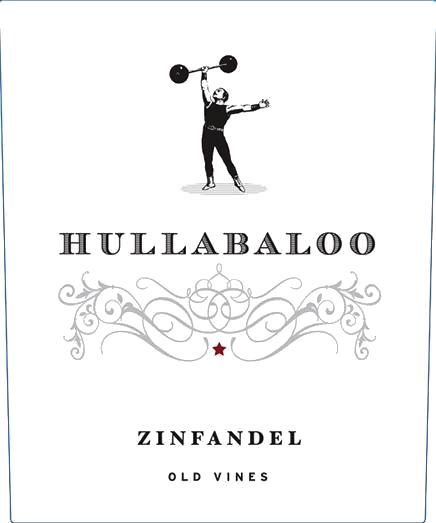 Hullabaloo Zinfandel 2017  Front Label