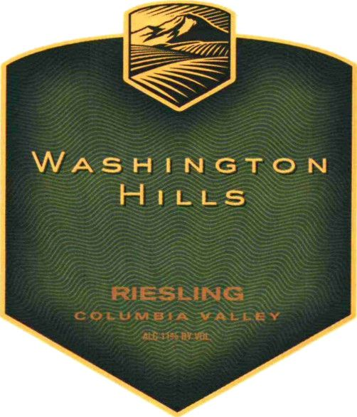 Washington Hills Riesling 2006  Front Label