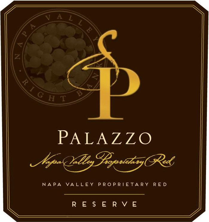 Palazzo Proprietary Red Reserve 2014 Front Label