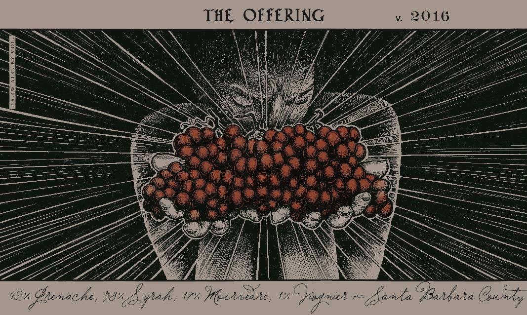 Sans Liege The Offering 2016 Front Label