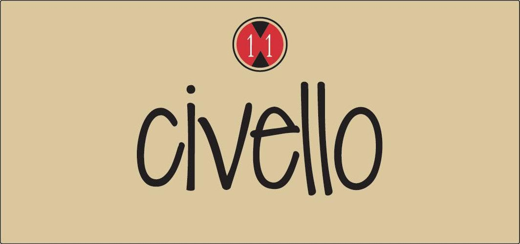 Row Eleven Civello White 2012  Front Label