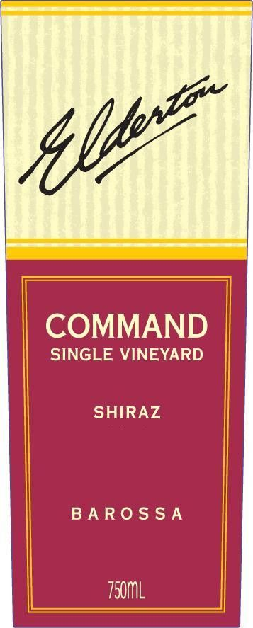 Elderton Command Shiraz 2004  Front Label