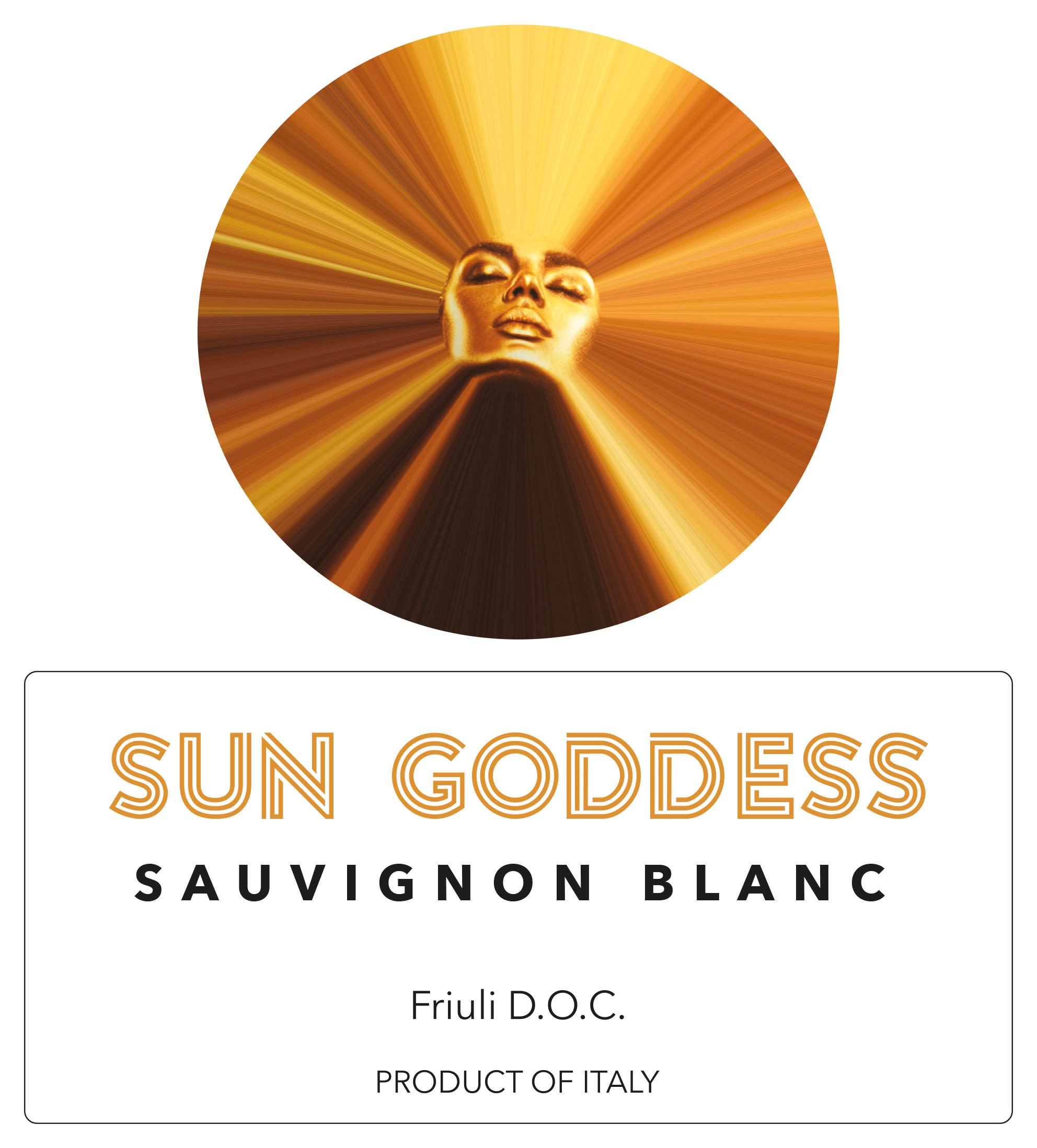 Sun Goddess by Mary J Blige Sauvignon Blanc 2019  Front Label