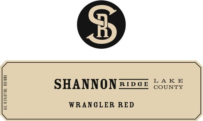 Shannon Ridge Wrangler Red 2010  Front Label