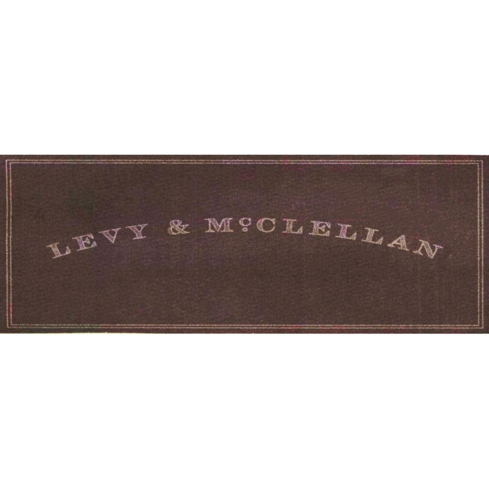 Levy & McClellan Proprietary Red 2005  Front Label