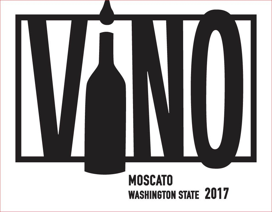 ViNO Moscato 2017  Front Label
