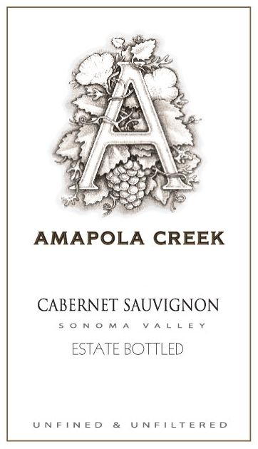 Amapola Creek Estate Cabernet Sauvignon 2005  Front Label