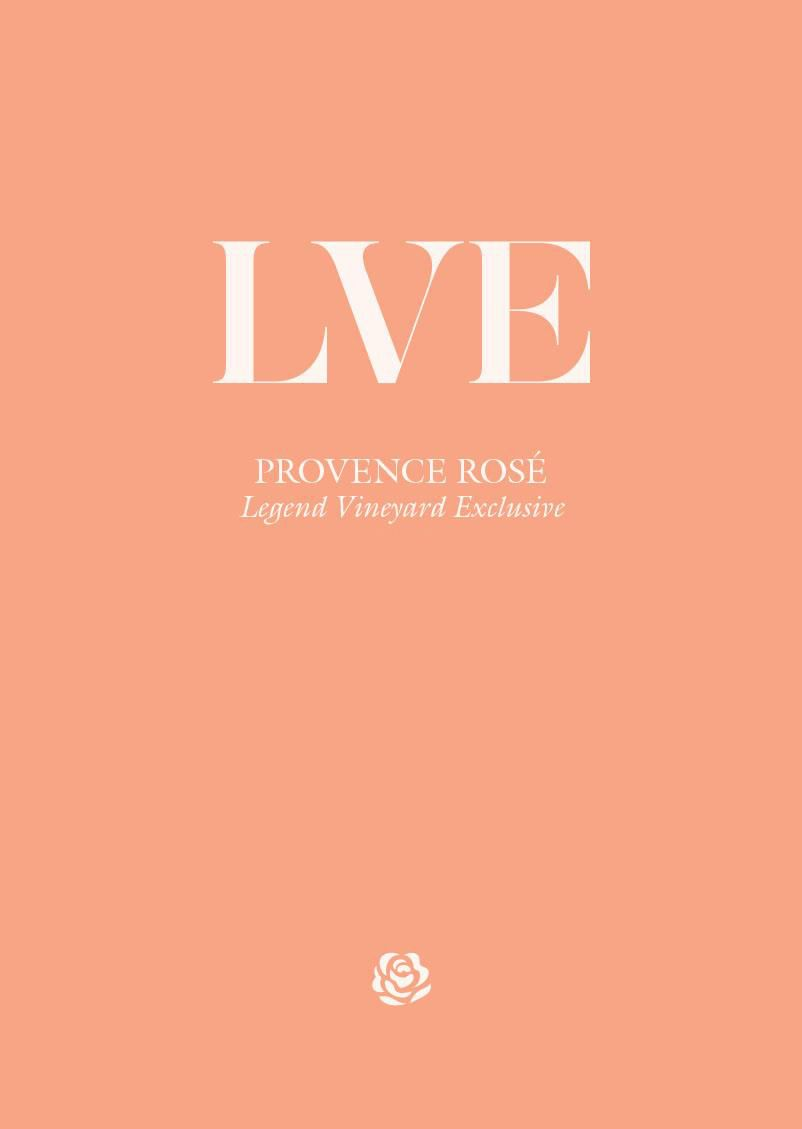 LVE by John Legend Cotes de Provence Rose 2019  Front Label