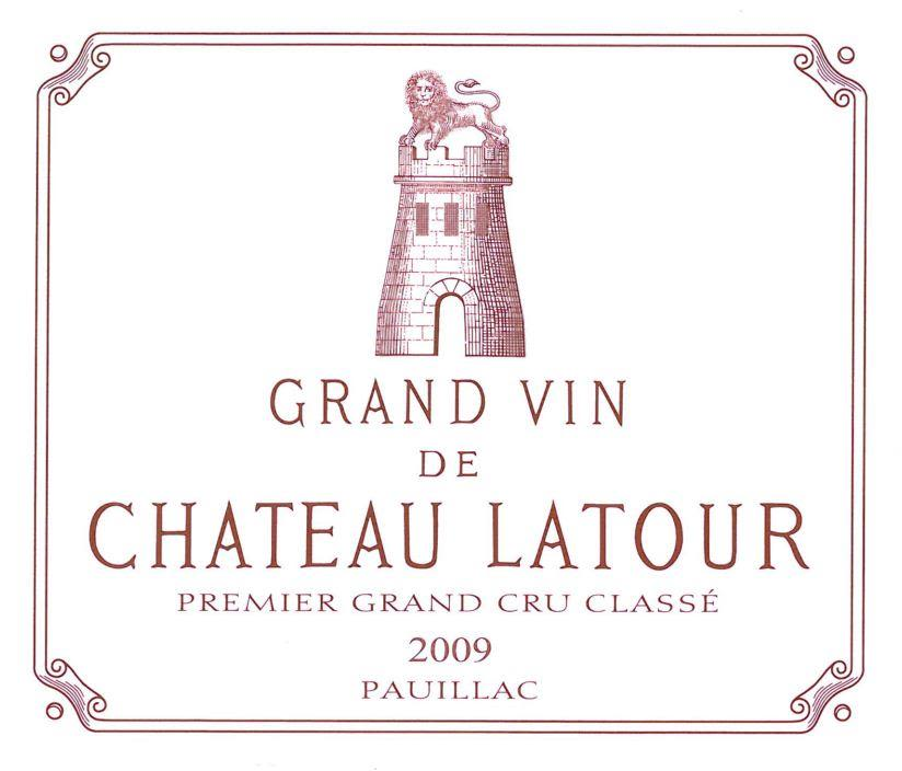 Chateau Latour (1-Bottle OWC) 2009  Front Label