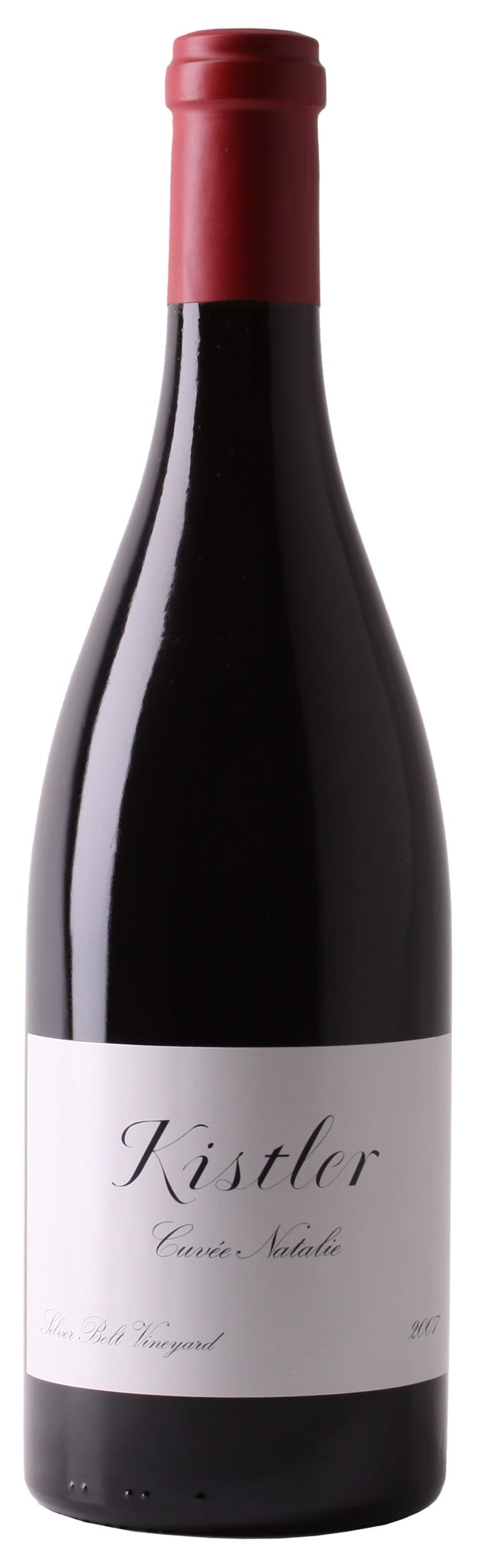 Kistler Vineyards Cuvee Natalie Pinot Noir 2007  Front Bottle Shot