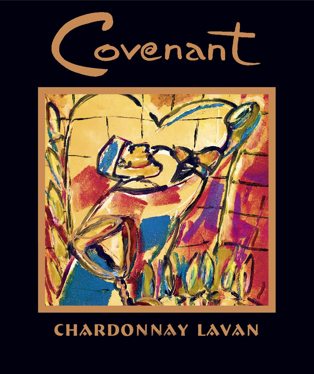 Covenant Lavan Sonoma Mountain Chardonnay (OU Kosher) 2019  Front Label