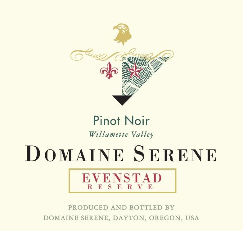 Domaine Serene Evenstad Reserve Pinot Noir 2016  Front Label