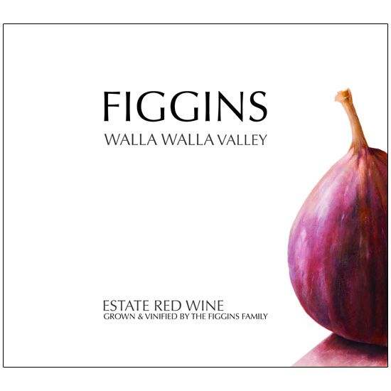 Figgins Estate Red Wine 2015  Front Label