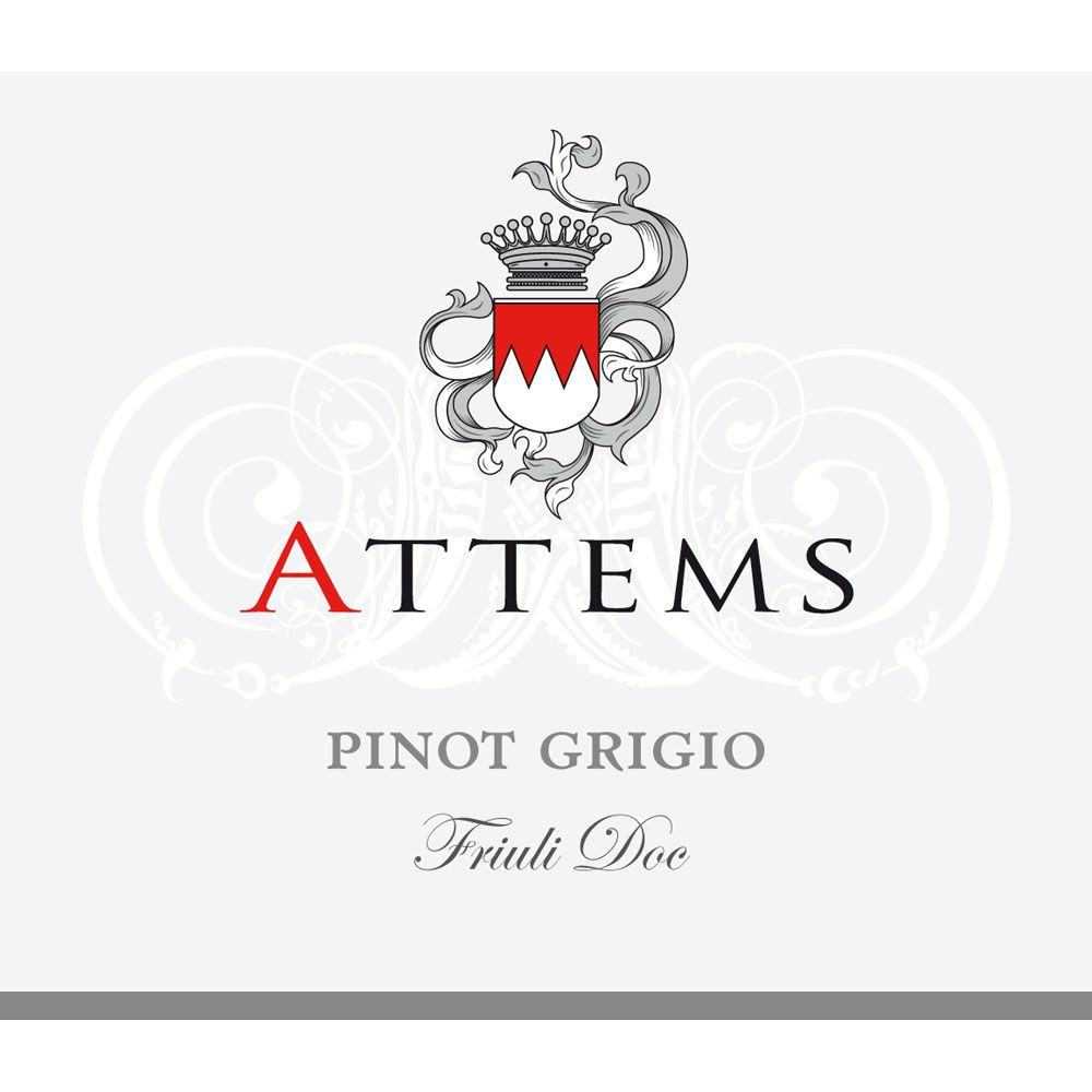 Attems Pinot Grigio 2018  Front Label