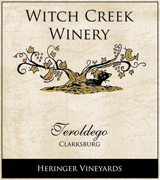 Witch Creek Winery Heringer Vineyards Teroldego 2010  Front Label
