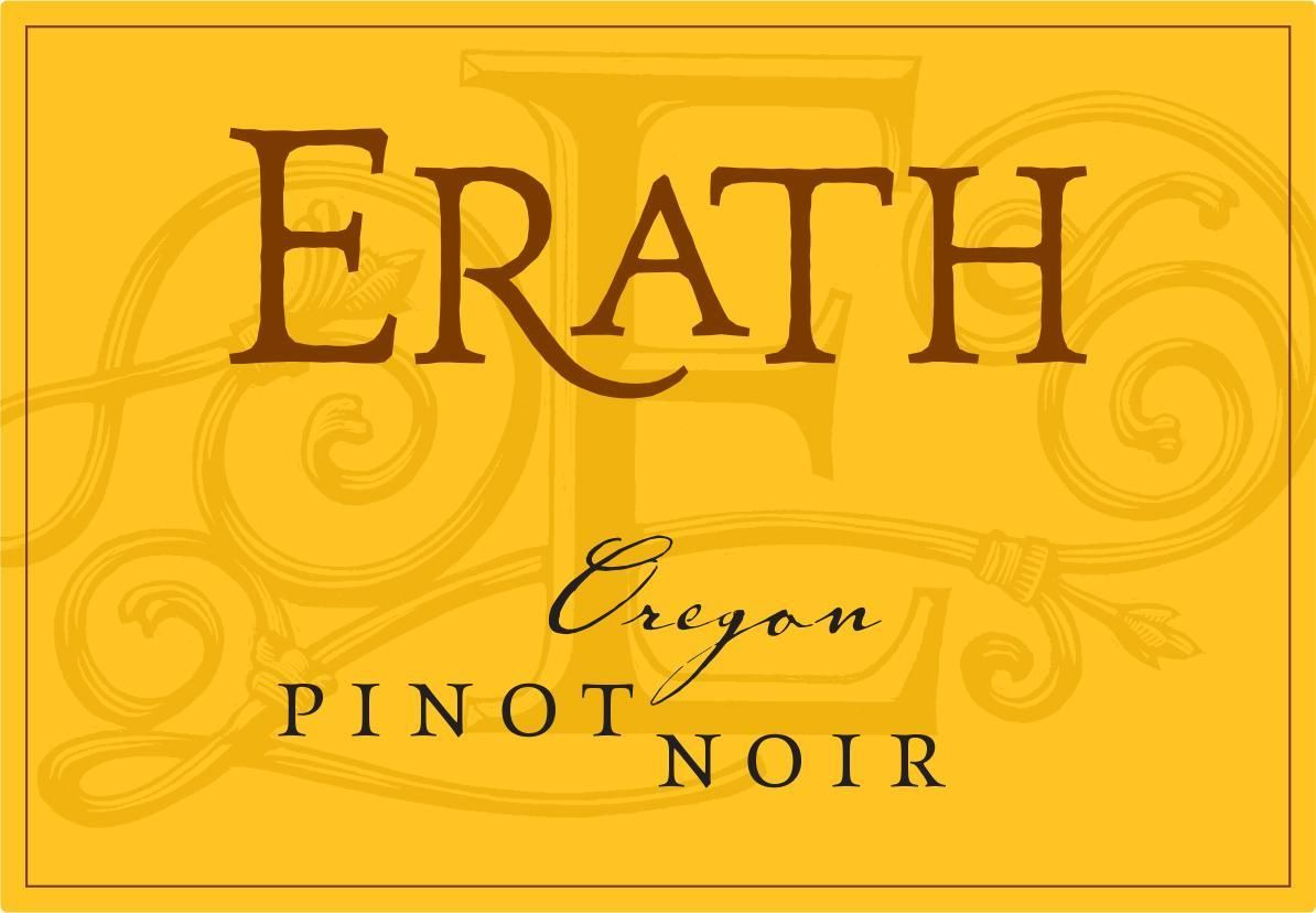Erath Pinot Noir 2017 Front Label